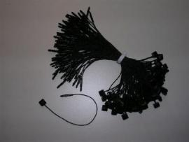 Koordsluiting 120mm zwart 1000st Td30352120