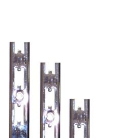 Wandrail 240cm Chroom  Tms6800-03