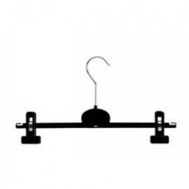 Kunststof klemhanger zwart 35cm 320st RKT35
