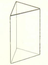 Acryl pyramidestandaard A4 Td14271021