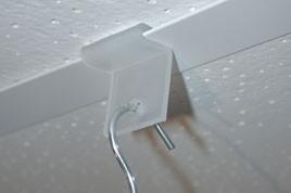 Systeemplafondklem hanger Td13001255