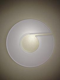 Maatring 11cm wit onbedrukt Td05651000
