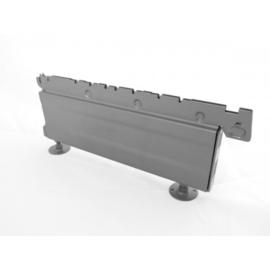 Voet 30x16cm alu/grijs Tm22400GR