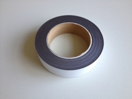 Magneetband wit rol 10 meter, breed 10mm Td13049110