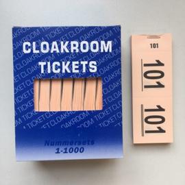 Nummerblokjes 10st. oranje Td35990014o
