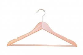 Beuken kledinghanger geknikt,broeklat en inkepingen Tms7122