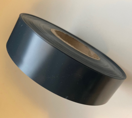 Inlegstrook 40mm donkergrijs 100mt ROL39/donkergrijs