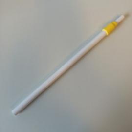 Buis wit/geel verstelbaar 32-62cm Td12018503