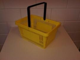Winkelmandje geel 1 handgreep 22 liter Td06000235