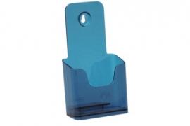 Folderbak 1/3 A4 staand neon blauw Tn20100162