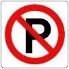 Verboden te Parkeren Tp808