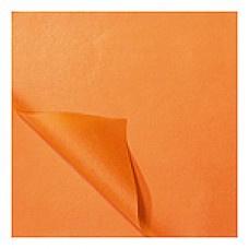 Zijdevloei vellen oranje 50x70cm Tpk331506