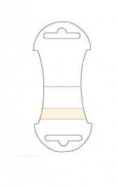 Byoux-kaartje type 102 - bxh 48x110 mm Td15450102