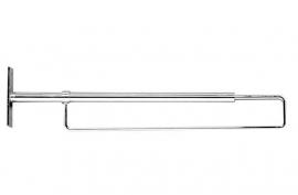Trompetbeugel chroom Tms1844