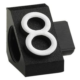 Compact Maxi zwart/wit 8 20st Td18030008