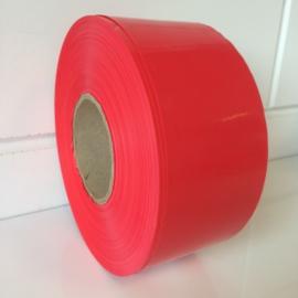 Afbakeningslint 250m x 8cm rood Td13245206