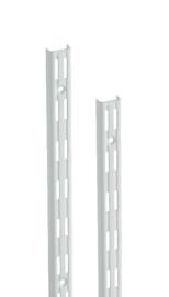 Wandrail wit dubbele perforatie 150cm Tms10001-00019