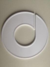 Maatring 9cm wit onbedrukt Td05601000
