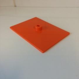 Voetplaat kunststof oranje Td12021105