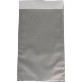 Fourniturenzak luxe zilver 12x19cm 200st Tpk265262