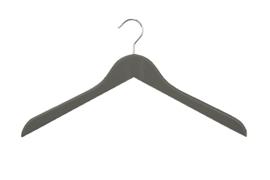 Houten hanger grijs licht geknikt 100st HH01026