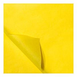 Zijdevloei vellen geel 50x70cm Tpk331502