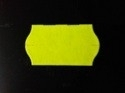 Etiket 22x12 golfrand geel permanent Td27093016