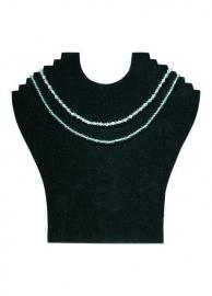Collierpresentatie zwart fluweel Td15389701