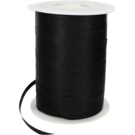 Krullint paper-look zwart 7mm x 250m Tpk710274