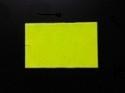 Etiket 26x16 rechthoek fluor geel permanent Td27173016