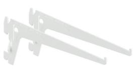 Tweetandige drager wit 15cm Tms10105-00101