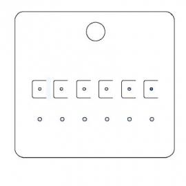 Byoux-kaartje type 20 - bxh 85x78 mm Td15450020