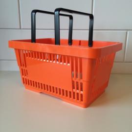 Winkelmandje oranje 22 liter Td06000201