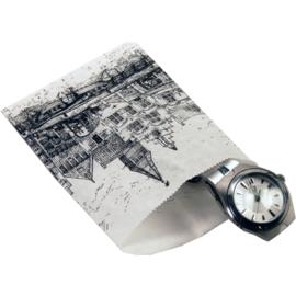 Kadozakje -geveltjes- 9x10cm 1000st Tpk261214