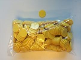 Consumptiemunten geel met ster 500st. Td35990003