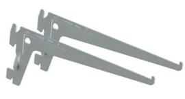 Tweetandige drager Ral 9006 15cm Tms10105-00103