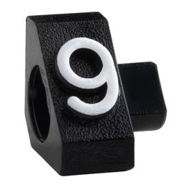 Compact Maxi zwart/wit 9 20st Td18030009