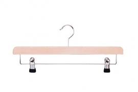 Beuken kledinghanger met klemmenlat Tms7204