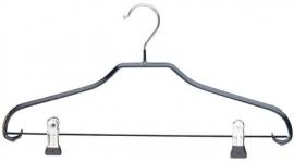 Tms8327 bonneteriehanger 40cm zwart + knijpers  50st