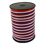 Krullint poly rood/wit/blauw 10mm x 250m Tpk709210