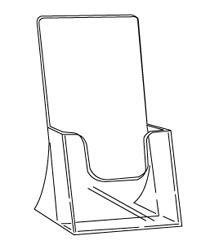 Folderbak staand 1/3 A4 Td99160016