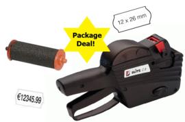 Package deal prijstang, etiketten permanent en inktrol Tpd022017P