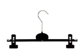 Kunststof klemhanger zwart 35cm RKT35L