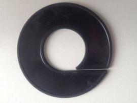 Maatring 9cm zwart onbedrukt Td05602000