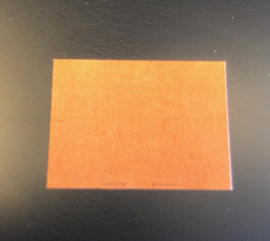 Etiket 26x19 oranje permanent Td27193005
