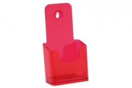 Folderbak 1/3 A4 staand neon rood Tn20100161