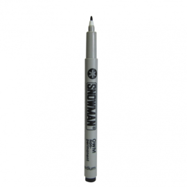 Marker zwart 1-2mm niet permanent  Thw0000N