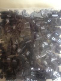 Collectieserie mini 1-100 zwart Td05099100