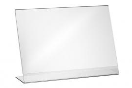 L-standaard acryl 80x60mm Td142208063