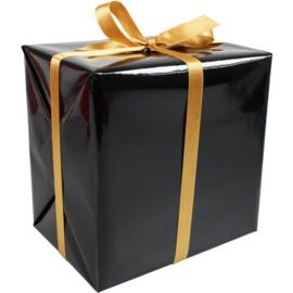 Cadeaupapier zwart 30cm 200m Tpk346773